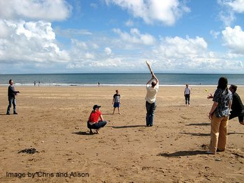 Playing French Cricket