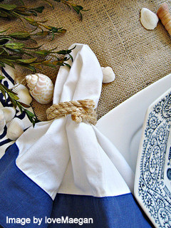 Beach Table Setting