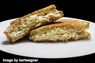 Tuna and Cheese Sandwich